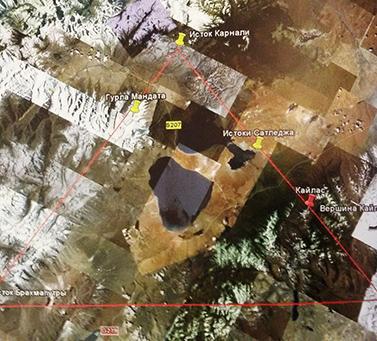 треугольник реки Инд, Карнали и Брахмапутра