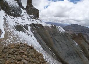 Вид с Тибетских гор