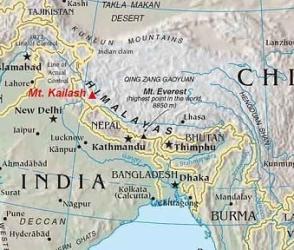Открытие новой границы между Тибетом и Непалом