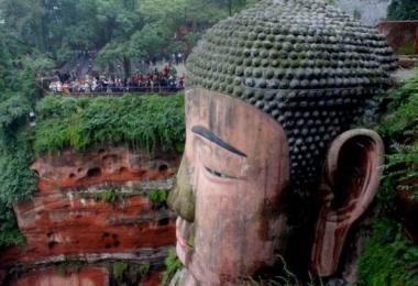 Лешань. Парк Большого Будды